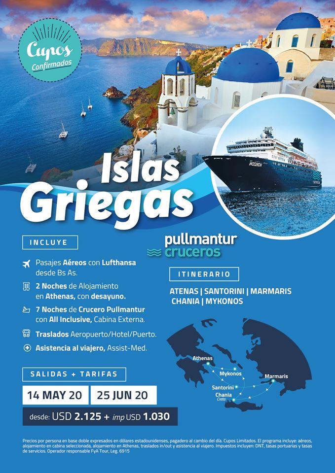 ISLAS GRIEGAS FYA TOURS